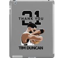 Tim Duncan Retire iPad Case/Skin