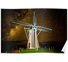 COSMIC WINDMILL Poster