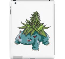 Stoned Bulbasaur iPad Case/Skin