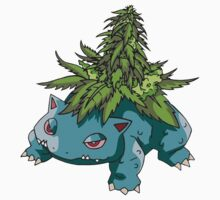 Stoned Bulbasaur by DrPonie