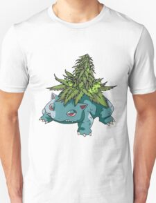 Stoned Bulbasaur T-Shirt