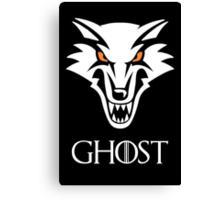 Direwolf Ghost Canvas Print