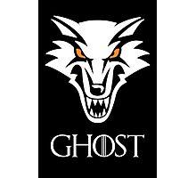 Direwolf Ghost Photographic Print