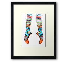 Happy Ballet Framed Print