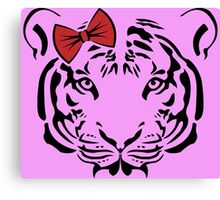 Cute tiger Canvas Print