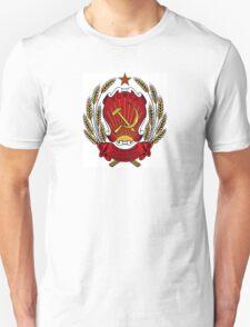 USSR Soviet Union Russia Lenin, Stalin, Coat of Arms Unisex T-Shirt