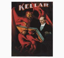Vintage poster - Kellar the Magician One Piece - Short Sleeve