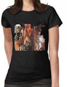 Ken-Akuma-Ryu Womens Fitted T-Shirt