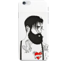 For The Love Of Bearded Men iPhone Case/Skin