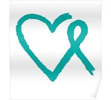 Heart Ribbon Poster