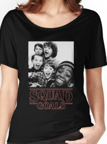 Stranger Things Squad Goals Women's Relaxed Fit T-Shirt