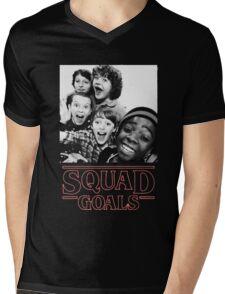 Stranger Things Squad Goals Mens V-Neck T-Shirt