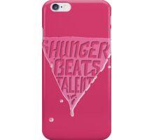 Hunger Beats Talent - Bubble Gum Pink iPhone Case/Skin