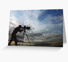 Are Clouds The Objective ? Greeting Card