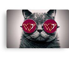 VT Cat Canvas Print