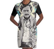 escobar narcos Graphic T-Shirt Dress