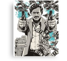 escobar narcos Canvas Print