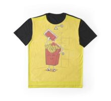 Fries shower Graphic T-Shirt