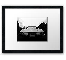 1964 Corvette Detail Framed Print