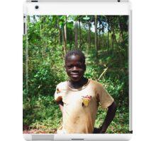 Ugandan Child, Jinja, Uganda iPad Case/Skin