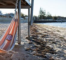 Seaside hammock by Rob Beckett