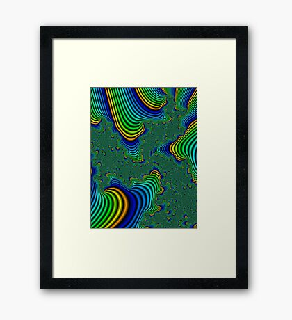 from the top of Neon trees Framed Print