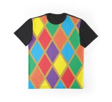 Argyle Stained Glass Graphic T-Shirt
