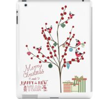 Merry Christmas and Happy New Year iPad Case/Skin