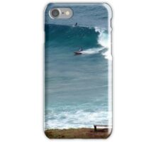 Surfing at Lennox Head iPhone Case/Skin
