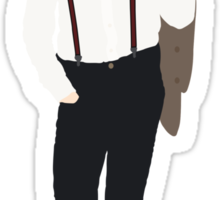 Eleventh Doctor Who - Matt Smith Minimalist Sticker