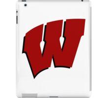 University of Wisconsin Madison W iPad Case/Skin