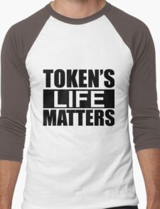 Token's Life Matters - South Park (Inverted Edition) Men's Baseball ¾ T-Shirt