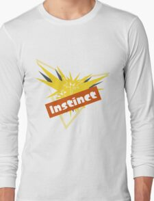 Pokemon GO Splatfest Team Instinct Long Sleeve T-Shirt