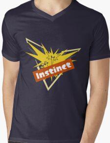 Pokemon GO Splatfest Team Instinct Mens V-Neck T-Shirt
