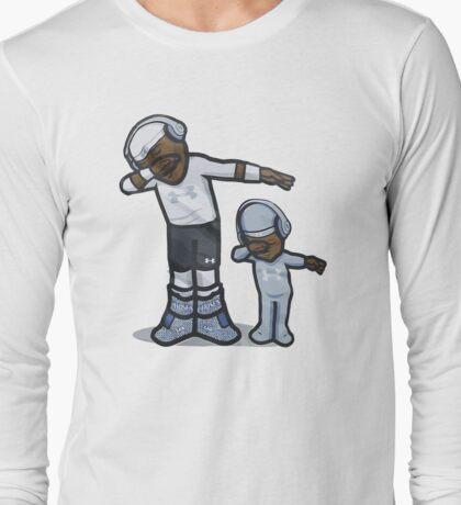 Cam Newton DAB son Long Sleeve T-Shirt
