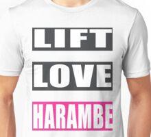 lift, love, harambe Unisex T-Shirt