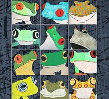 Frogs by Janet Carlson