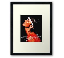 olivia newton john Framed Print