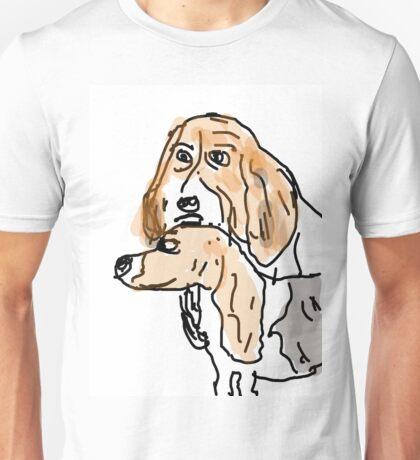 Basset Hounds Unisex T-Shirt
