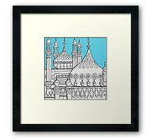 Blue Domes Framed Print