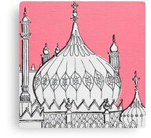 Pink Dome Canvas Print