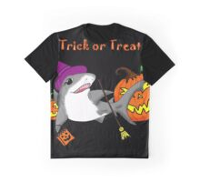 Trick or Treat Shark Graphic T-Shirt