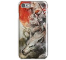 Princess Mononoke – Wolf Rider iPhone Case/Skin