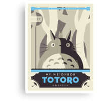 My Neighbor Totoro Canvas Print