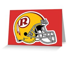 redskins Greeting Card