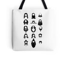 The Bearded Company Black and White Tote Bag