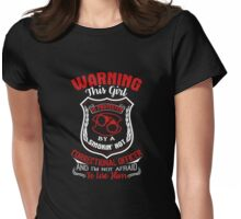 Correctional Officers Shirt Womens Fitted T-Shirt