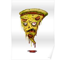 _zombie pizza Poster