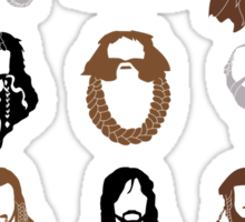 The Bearded Company Sticker