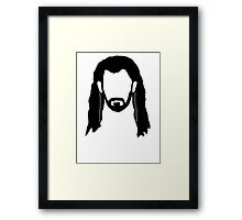 Thorin's Beard Framed Print